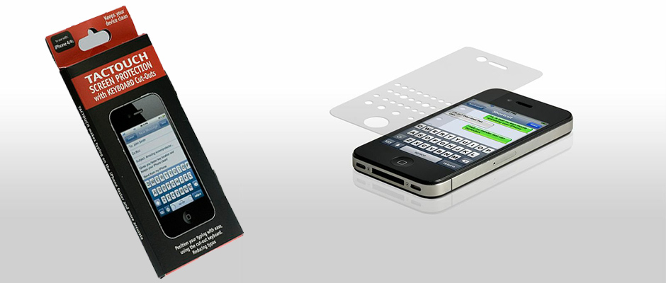 Tactouch for iPhone4 and iPhone5